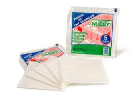 Paños de limpieza de TNT blanco
